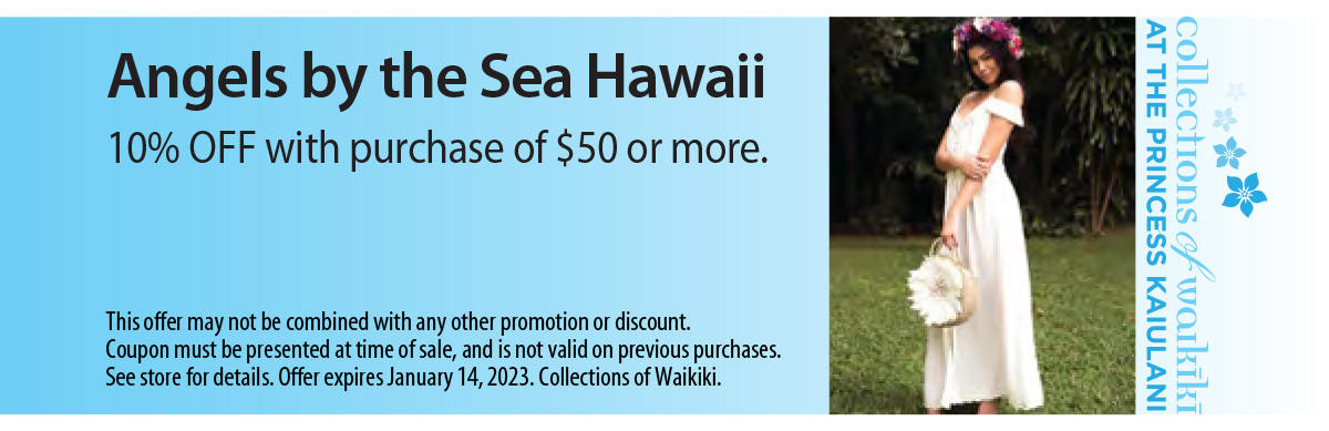 Angels by the Sea Hawaii Coupon