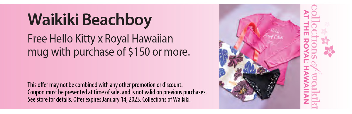 Waikiki Beachboy Coupon