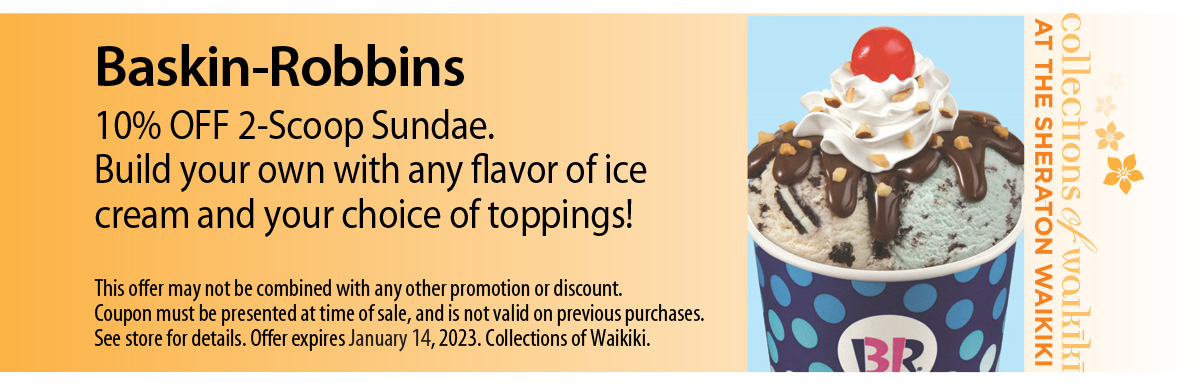 Baskin-Robbins Coupon