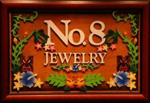 No.8 logo