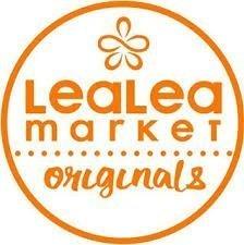 LeaLea Market Originals logo (orange)