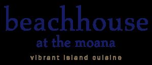 Beachhous at the moana vibrant island cuisine logo