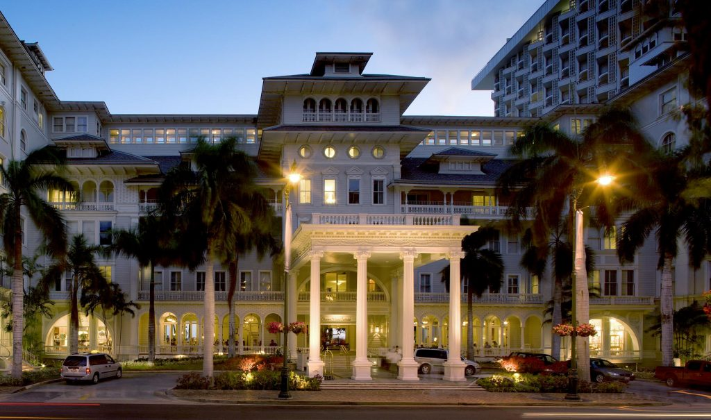 Moana Surfrider, A Westin Resort & Spa valet area